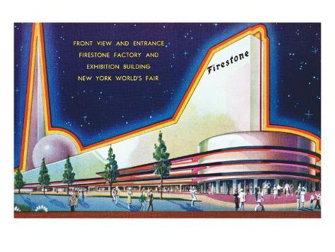 Firestone Building, New York World's Fair Art Print