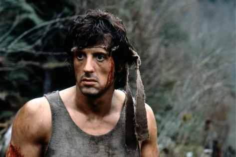 First Blood 1982 Directed by Ted Kotcheff Sylvester Stallone Photo