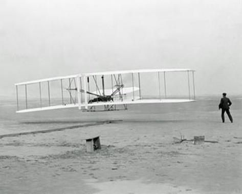 First Flight Kitty Hawk, N. Carolina - Orville & Wilbur Wright Photo