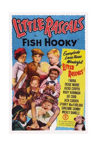 Fish Hooky Giclee Print
