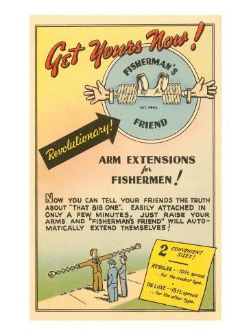 Fisherman's Arm Extensions Art Print