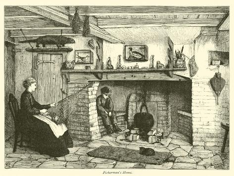 Fisherman's Home Giclee Print