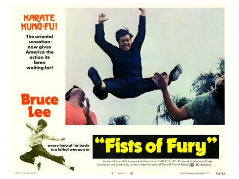 Fists of Fury, 1973 Stretched Canvas Print