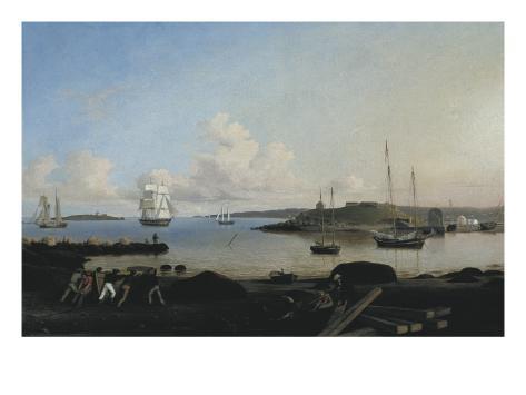 The Fort and Ten Pound Island, Gloucester, Massachusetts Art Print