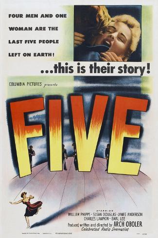 Five, 1951 Art Print