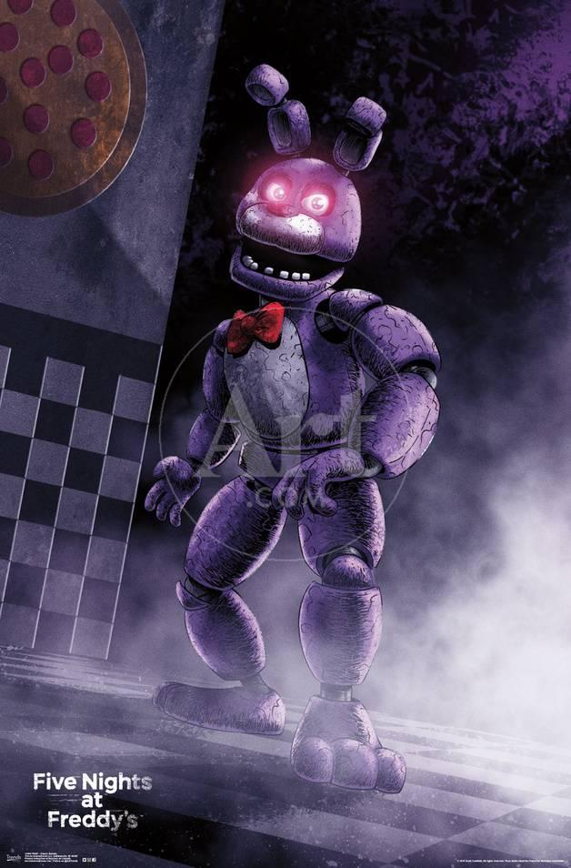 five nights at freddy s classic bonnie posters at allposters com