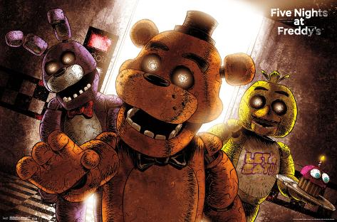 five nights at freddy's- scare posters at allposters