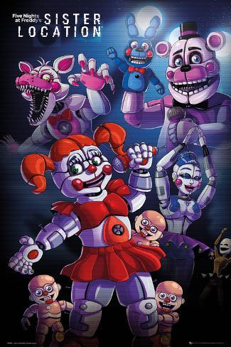 Five Nights At Freddy 39 S Sister Location Group L Minas En