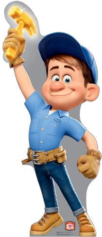 Fix-It Felix Jr. - Disney's Wreck-It Ralph Movie Lifesize Standup Cardboard Cutouts