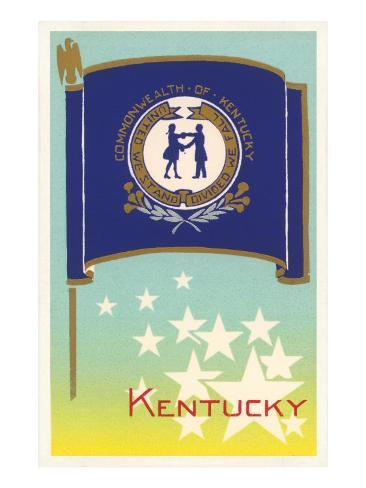 Flag of Kentucky Art Print