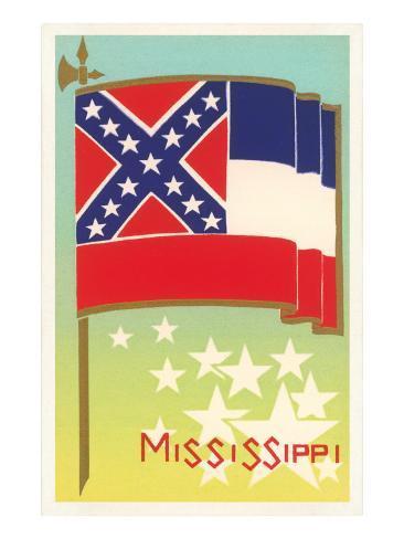 Flag of Mississippi Art Print