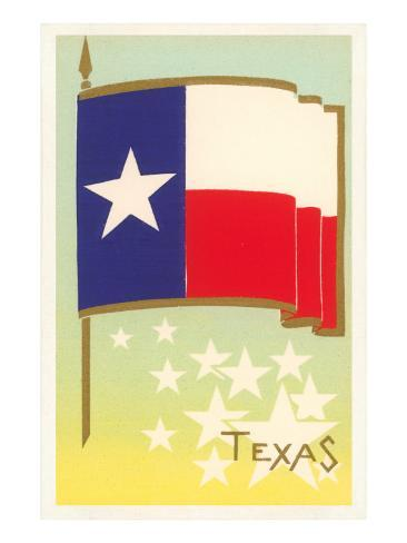 Flag of Texas Art Print