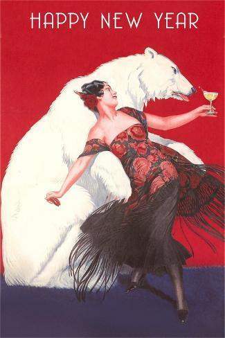 Flamenco Dancer, Polar Bear Stampa artistica