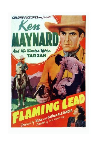 Flaming Lead Giclee Print