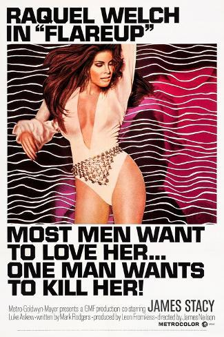 Flareup Art Print