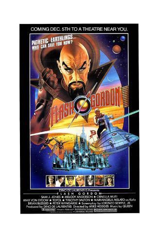Flash Gordon, 1980 Gicléetryck