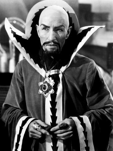 Flash Gordon, Charles Middleton as Ming the Merciless, 1936 Photo