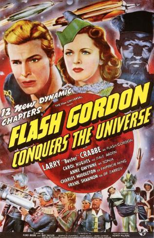 Flash Gordon Conquista o Universo Impressão original