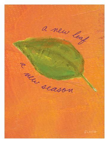 A New Leaf Giclee Print
