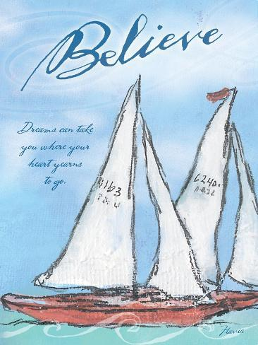 Believe in Your Dreams Giclee Print