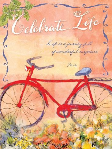 Celebrate, Life is a Journey Giclee Print