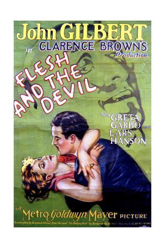 Flesh and the Devil - Movie Poster Reproduction Art Print