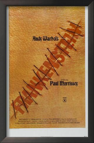 Flesh for Frankenstein Impressão artística emoldurada