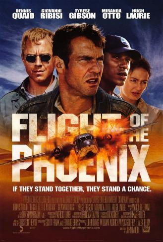 Flight of the Phoenix Dubbelsidig poster