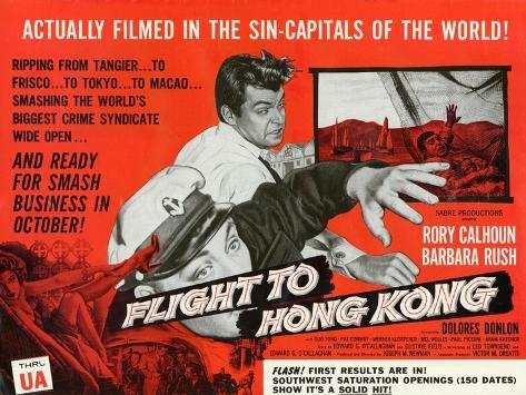 Flight to Hong Kong, 1956 Art Print