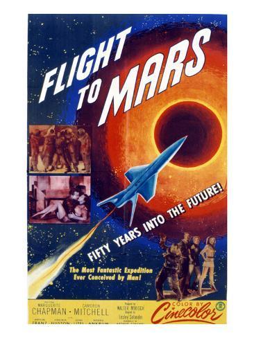 Flight to Mars, 1951 Photo