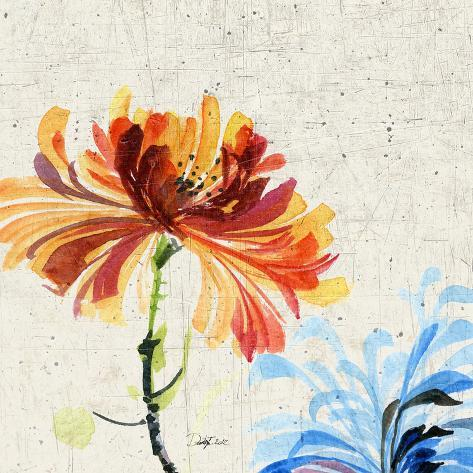 Floral Expose I Art Print