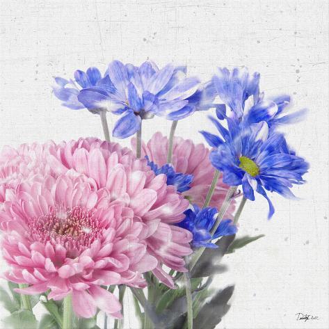 Floral Expose II Art Print
