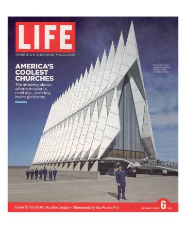 Cadet Chapel at the U.S. Air Force Academy, April 6, 2007 Premium Photographic Print