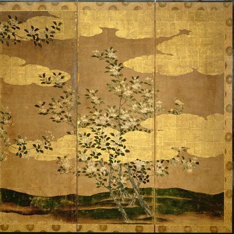 Flowers of Camellias Impressão giclée