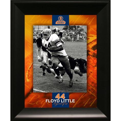 Floyd Little Black & White Floating 'Legend of 44' Collage Framed Memorabilia