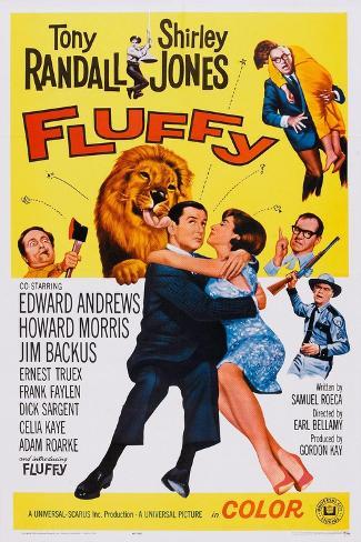 Fluffy, Howard Morris (Axe), Tony Randall, Shirley Jones, 1965 Art Print