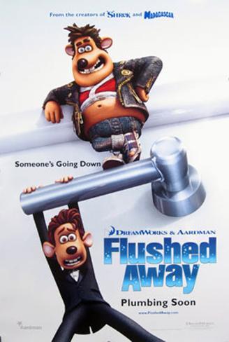 Flushed Away Original Poster