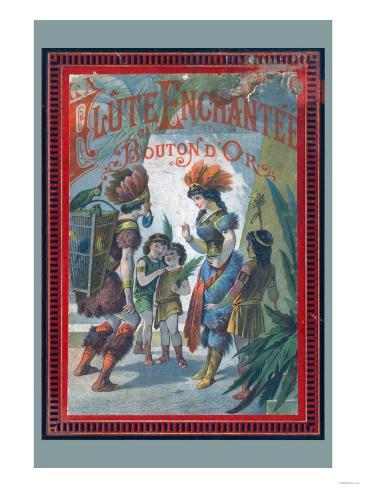 Flute Enchanter Art Print