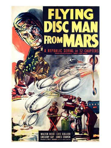 Flying Disc Man From Mars, 1950 Foto