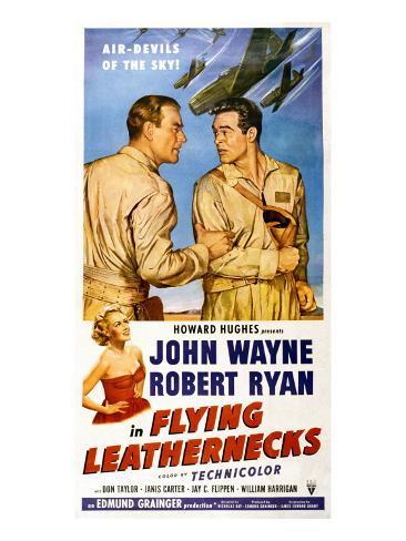 Flying Leathernecks, John Wayne, Robert Ryan, Janis Carter, 1951 Photo