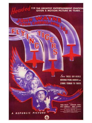 Flying Tigers, 1942 Art Print