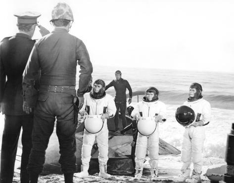 Flykten från apornas planet Foto