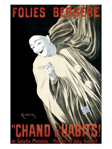 Folies-Bergere, Chand d'Habits Giclee Print