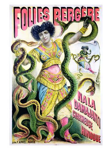 Folies Bergere Giclee Print
