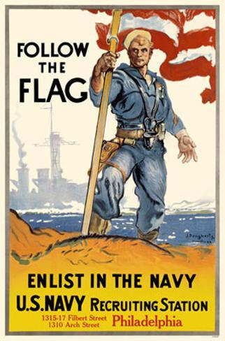 Follow The Flag Masterprint
