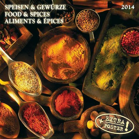 Food & Spices - 2014 Calendar Calendars