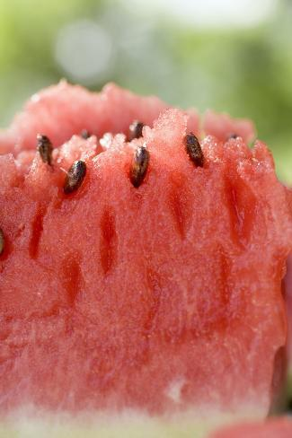 A Piece of Watermelon Photographic Print