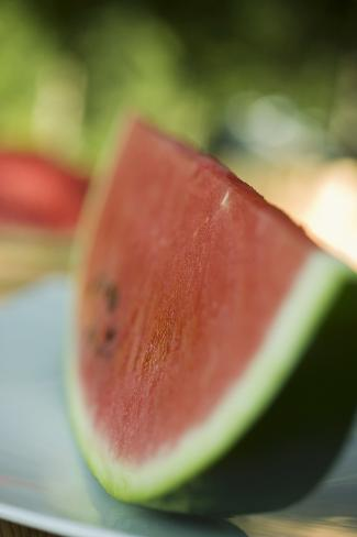 A Slice of Watermelon Photographic Print
