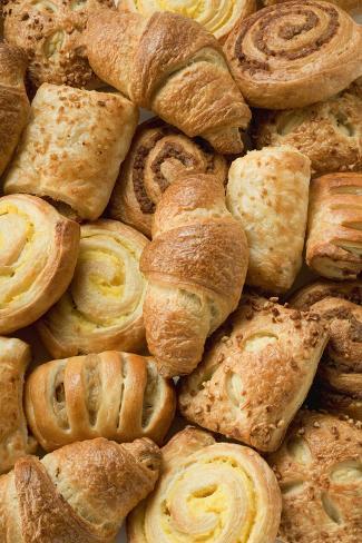Assorted Danish Pastries Photographic Print