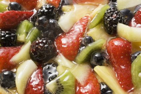 Fruit Gateau (Detail) Photographic Print